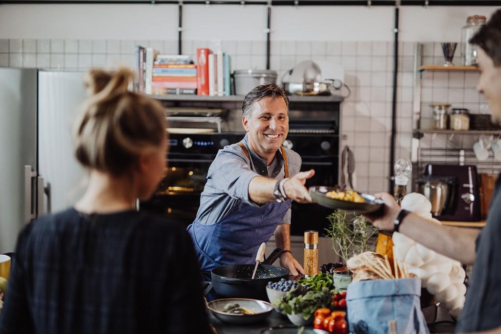 Show Cooking - Kulinarische Raffinesse